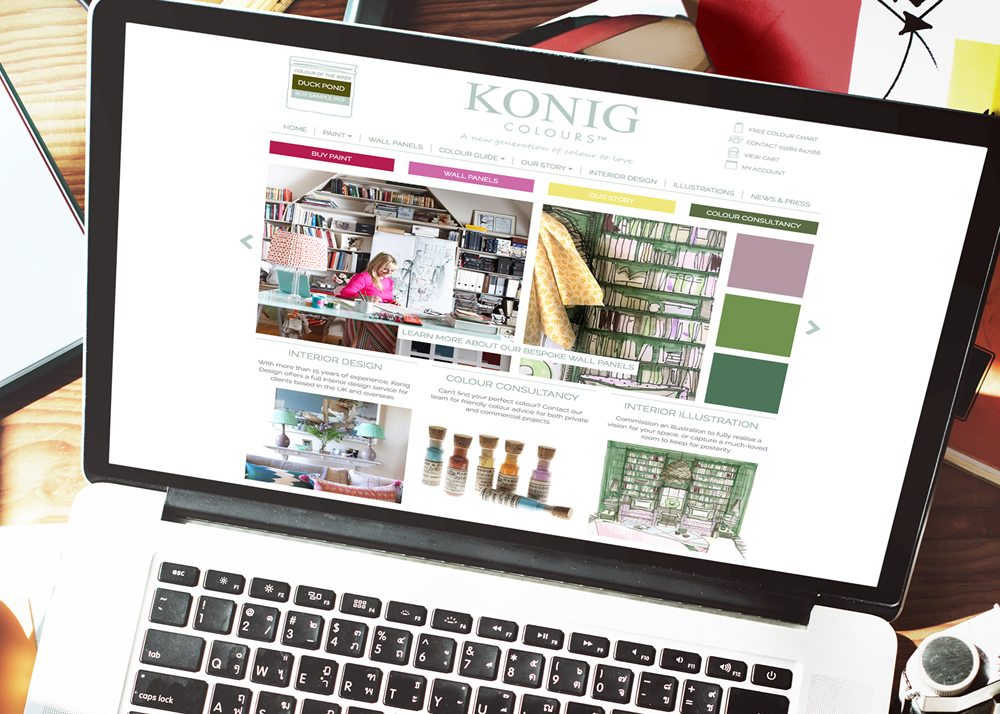 web konig colours
